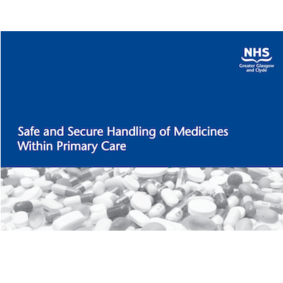 handling medicines socialcare guidance Policy for the safe handling and administration of medicines general policy no 11 applies to: all clinical or.